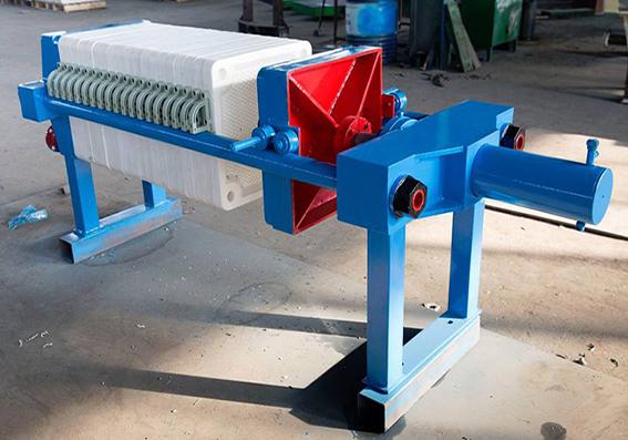 用于现代社会环保产业的板框压滤机