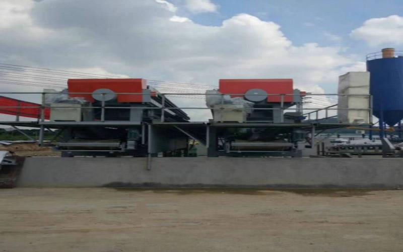 输送带一体式压滤机,打桩污水处理