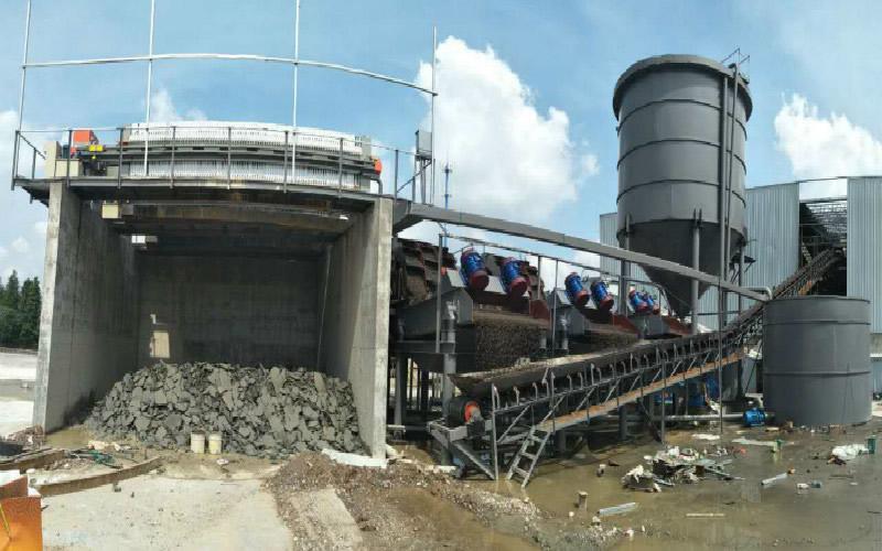 水洗沙厂高锥沉淀  快速分离污水处理