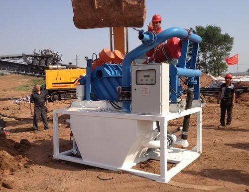 钻井泥浆处理离心机效果