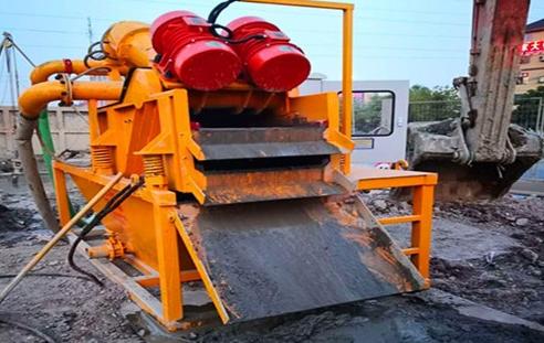 冲砂泥浆处理设备调试要点总结