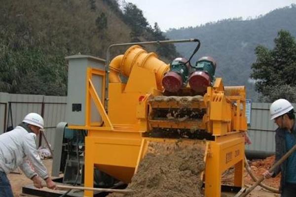 浅谈泥浆处理设备的分类介绍