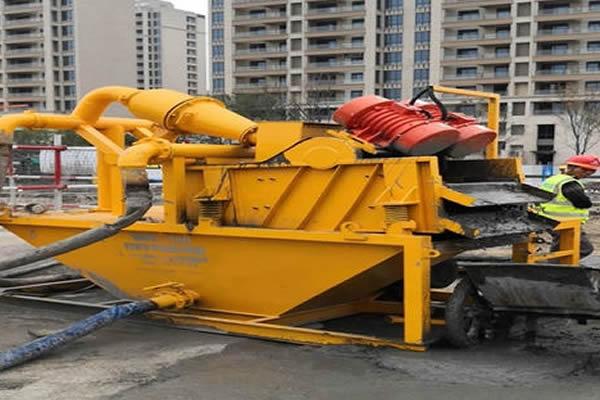 建筑泥浆处理设备优势特点有哪些