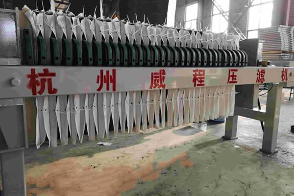 板框压滤机使用范围 化工炼油 污水处理