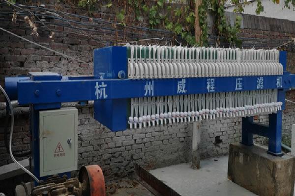 压滤机自动拉板运行过程分析