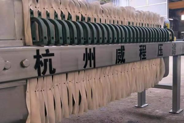 板框压滤机污泥处理工艺及常见问题分析