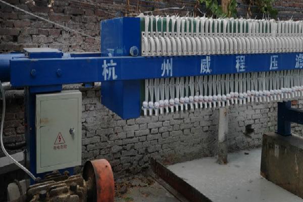 污泥压滤机的工作过程是怎么样的